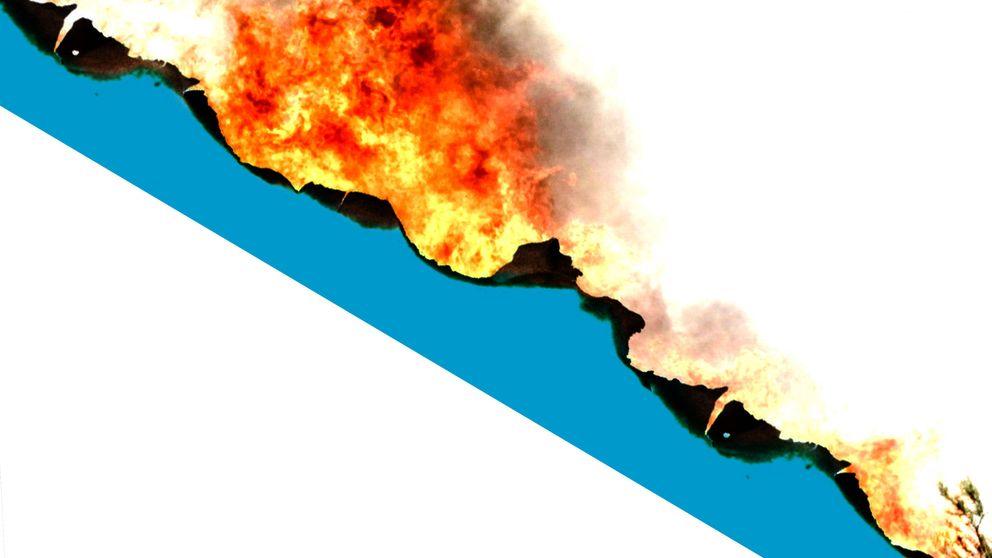 Quema incontrolada, sequía, eucaliptos... La inexistente trama que incendia Galicia