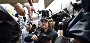 Post de Fernando Alonso,  uno de los pilotos más seguidos y queridos en Singapur