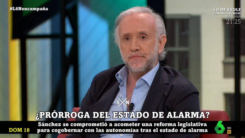 'La Sexta noche': la puñalada de Eduardo Inda a Iñaki López por este lapsus con Ayuso