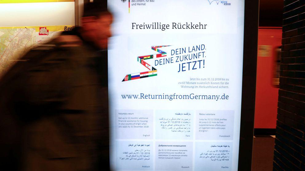 La oferta de fin de año de Merkel: 2.200 € para los refugiados que se vayan del país