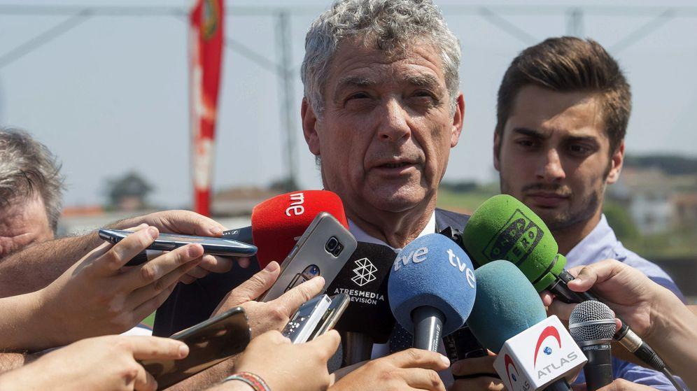 Foto: Detienen a Ángel María Villar en una operación contra la corrupción en la RFEF. (EFE)