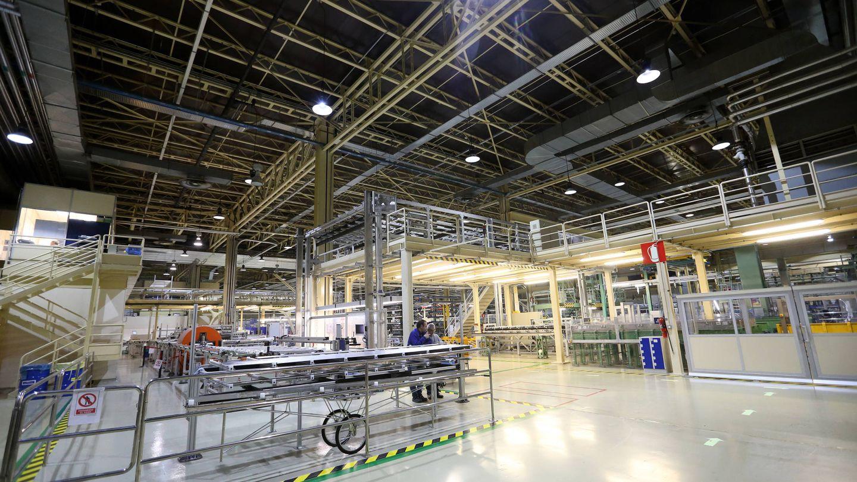 Interiores de la fábrica. (J.P)