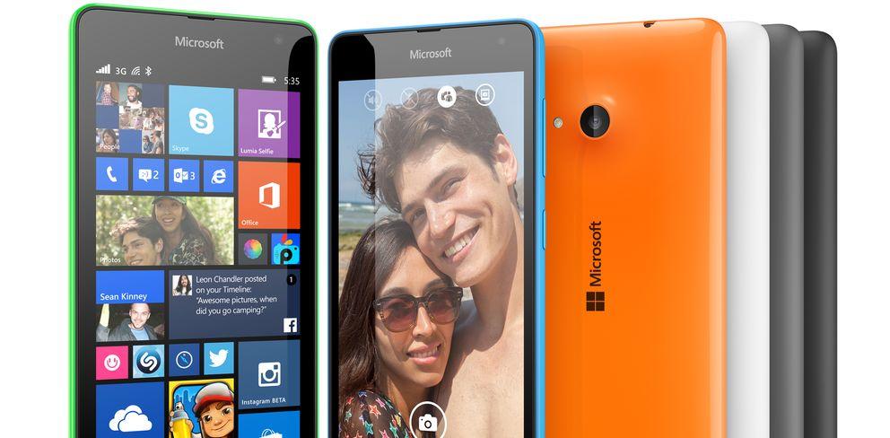 Foto: Microsoft presenta el Lumia 535, su primer 'smartphone' sin la marca Nokia