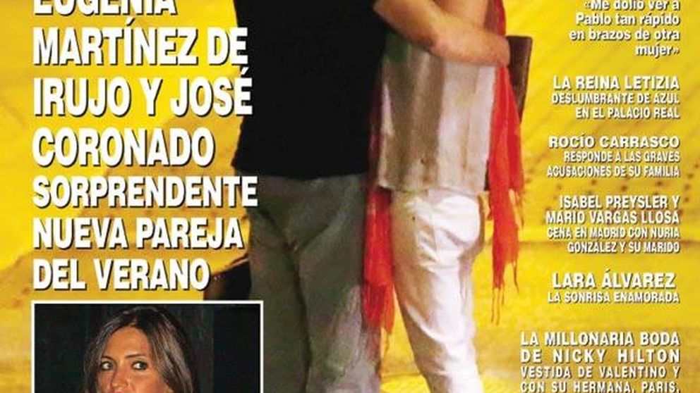 Coronado y Eugenia Martínez de Irujo, las fotos que confirman su romance