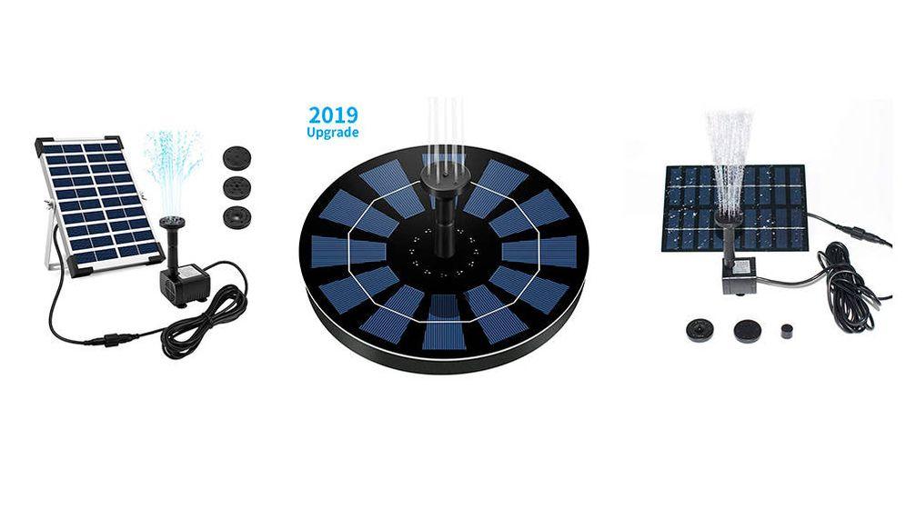 Foto: Las mejores bombas de agua solares para bombear agua de la forma más limpia