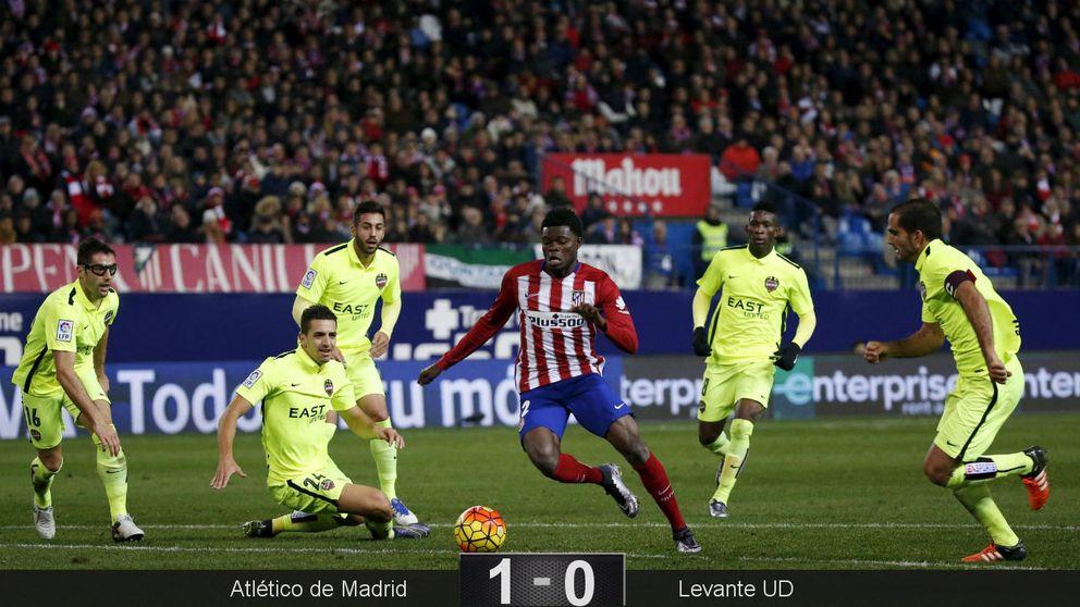 La solución estaba ya en casa: Thomas vuelve a decidir y pone líder al Atlético