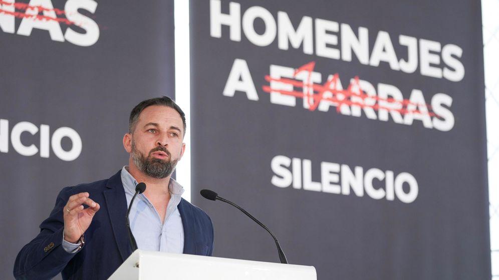 Foto: Vox ha pedido suprimir las ayudas a la AVT en Boadilla mientras Abascal hace política con el terrorismo. (EFE)
