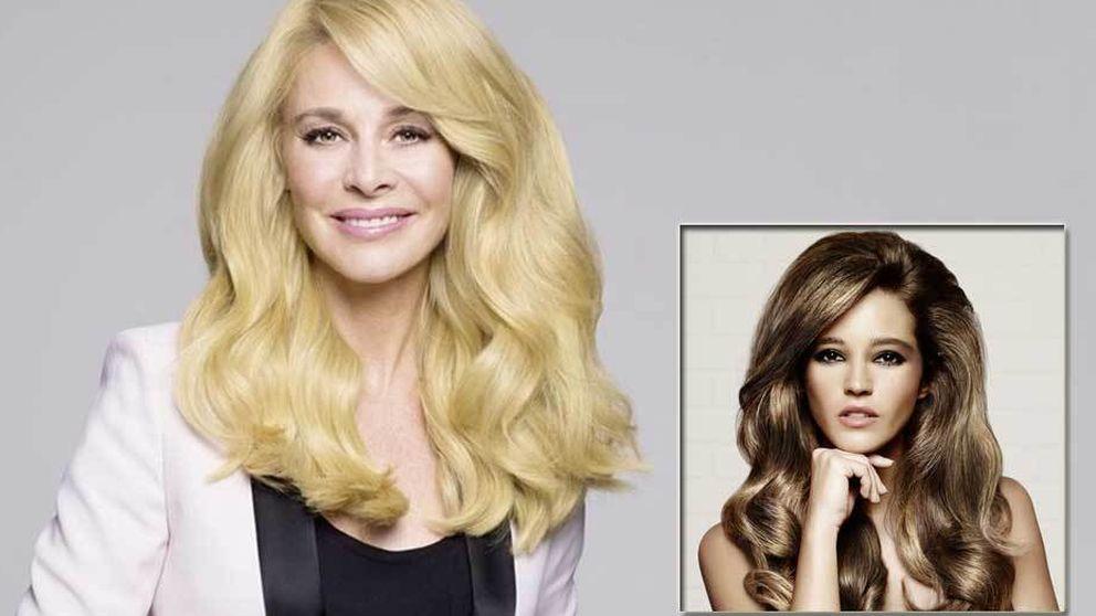 La actriz Belén Rueda le roba la peluca a la modelo Malena Costa
