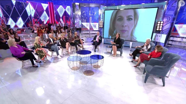 Debate de 'Las Campos'. (Mediaset)
