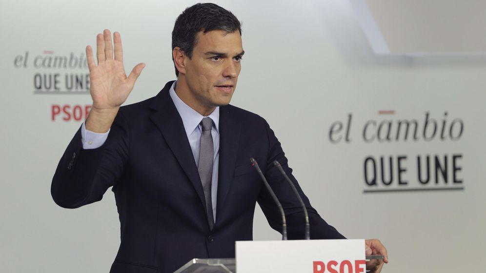 Foto: El secretario general del PSOE y candidato a la presidencia del Gobierno, Pedro Sánchez. (Efe)