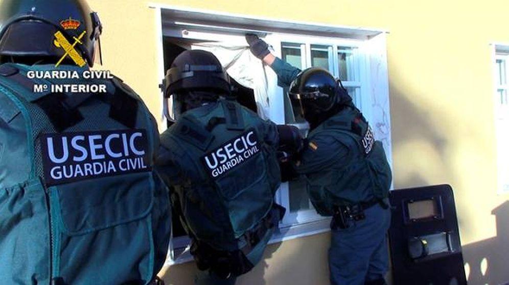Foto: Incautan cuatro toneladas de cocaína en una operación conjunta entre Guardia Civil y DEA