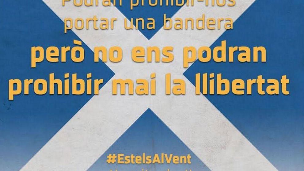 ANC y Òmnium contraatacan: 10.000 banderas de Escocia en vez de esteladas