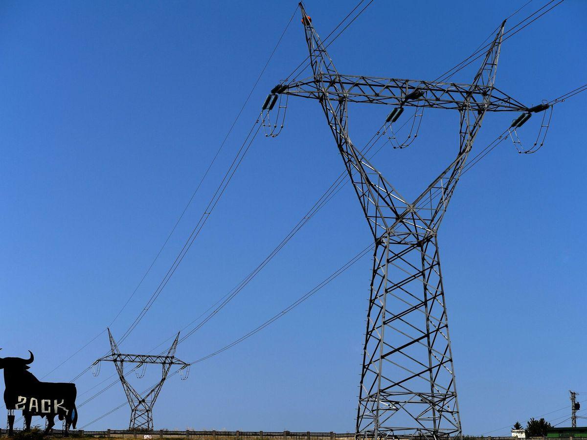 Foto: Torretas de alta tensión. (EFE)