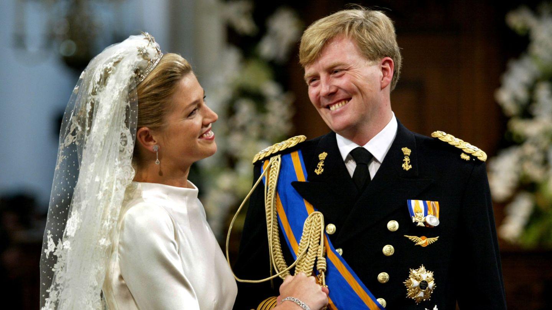 Guillermo y Máxima, el día de su boda. (Reuters)
