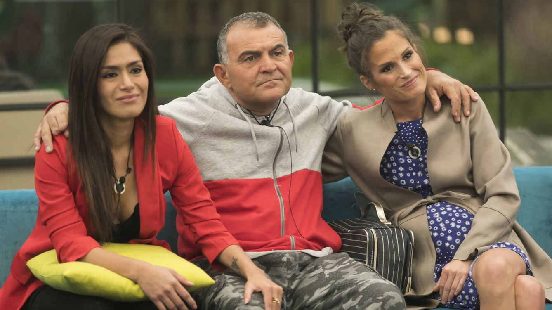 Foto: Miriam, El Koala y Verdeliss en 'GH VIP 6'. (Mediaset España)