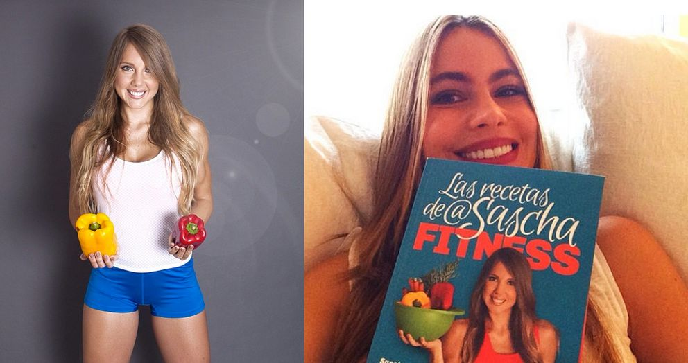Sascha Fitness cuenta con Sofia Vergara como fan incondicional (Fotos: Instagram)