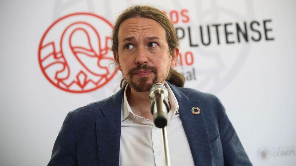 Foto: Pablo Iglesias, la semana pasada, en San Lorenzo de El Escorial. (EFE)