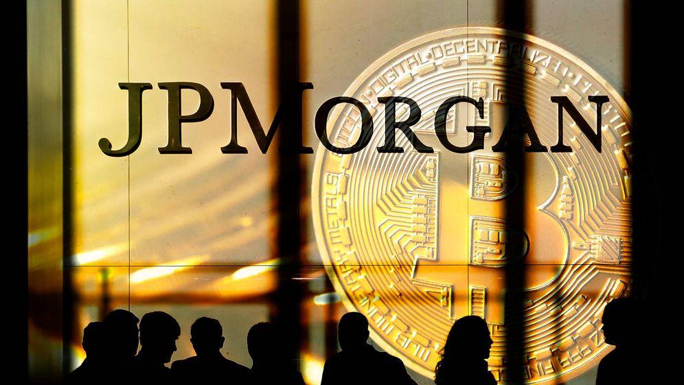 Foto: JP Morgan y bitcoin. (EC)
