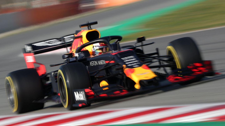 Verstappen al volante del Red Bull. (Reuters)