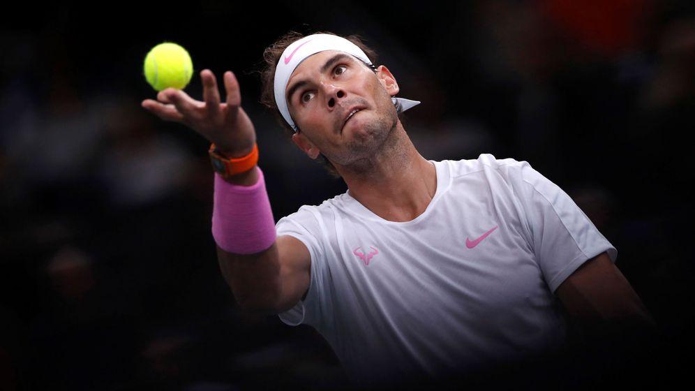 Foto: Rafa Nadal ante Tsonga en el Masters 1000 de París-Bercy. (Reuters)