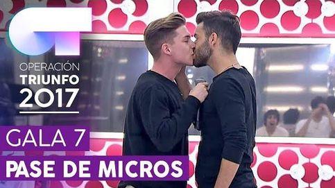 'OT 2017': Raoul y Agoney se funden con un apasionado beso en la boca