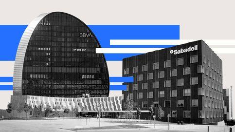 Sabadell y BBVA ya registran aumentos de refinanciaciones, hasta el 5% del crédito total