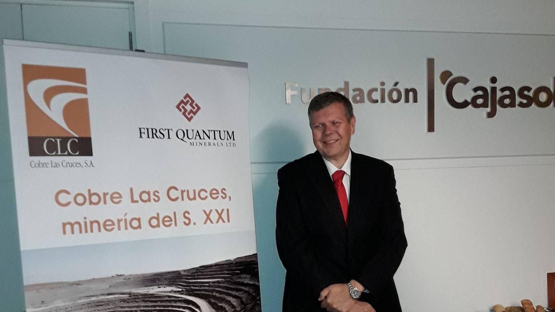 Iain Anderson, CEO de Cobre Las Cruces. (CLC)