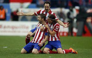 El Atlético se desquita gracias a la 'gasolina' justa para seguir soñando