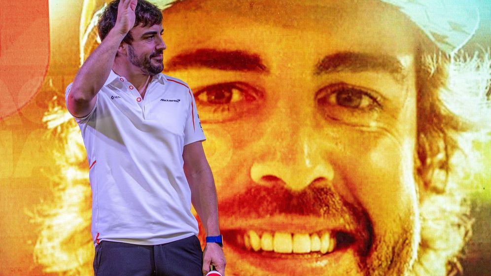 Foto: Fernando Alonso durante el pasado GP de Abu Dabi. (EFE)