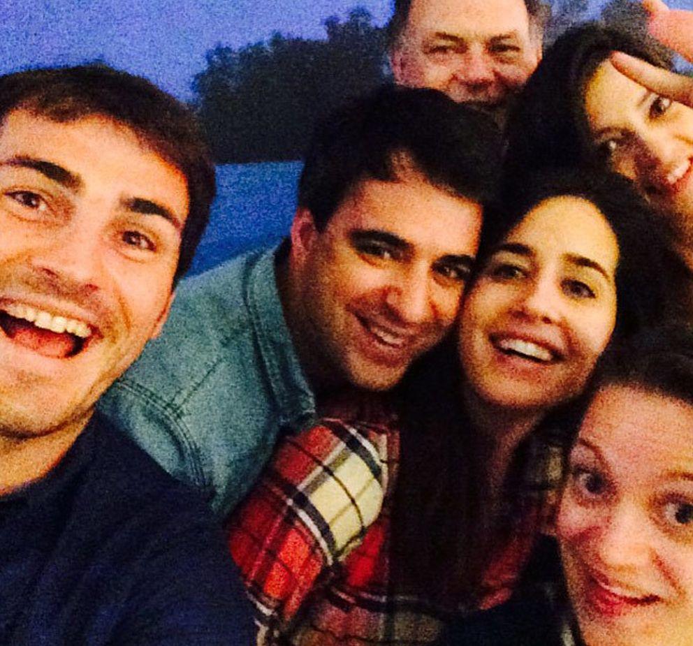 El 'selfie' subido por casillas (instagram: ikercasillasoficial)