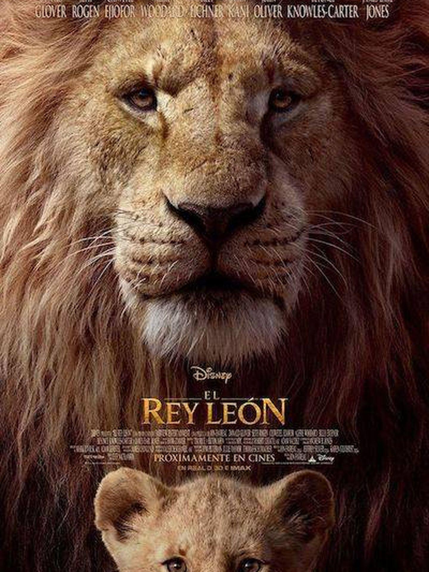 Cartel de 'El Rey León'
