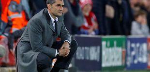 Post de A Ernesto Valverde (ahora) le atizan con el estilo mientras Joan Laporta pide la vez