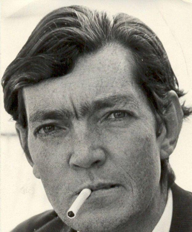 Foto: Julio Cortázar en 1967 fotografiado por Sara Facio