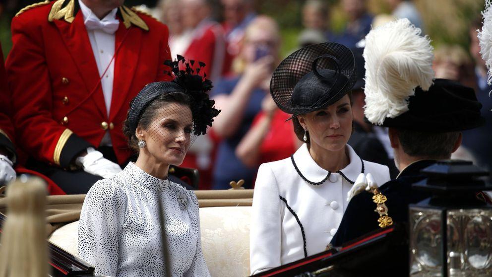 ¿Se llevan mal Kate Middleton y Letizia? Las redes (y los medios británicos) arden
