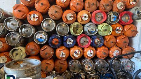 El peligroso contrabando hacia África de las bombonas robadas en España
