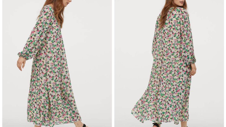El vestido de flores de HyM. (Cortesía)