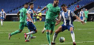 Post de Benzema deslumbra con un taconazo y distancia al Madrid al frente de la tabla (0-1)