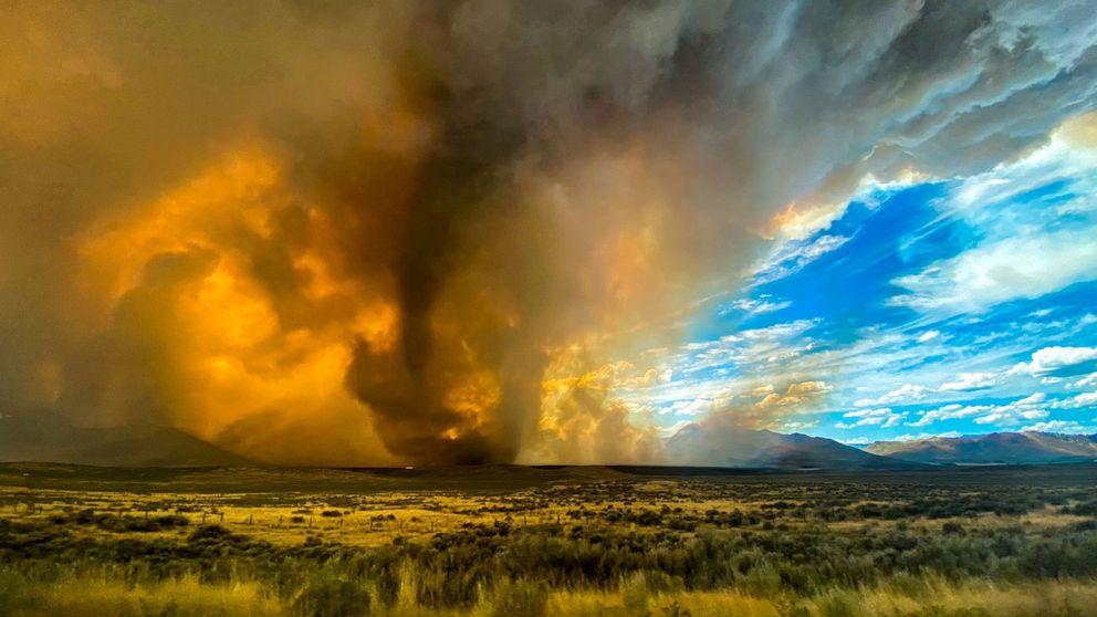 Tornados de fuego: el último fenómeno meteorológico que sacude California