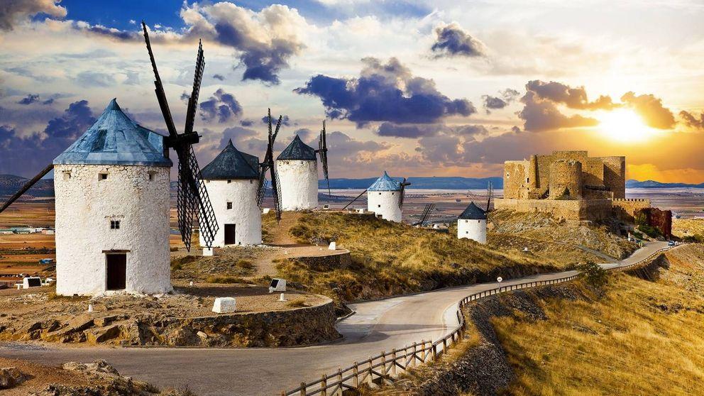 Paseo por La Mancha: azafrán, molinos y un castillo en el mismo plato