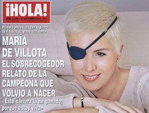 """María de Villota: """"Esta carrera la he ganado yo porque estoy viva"""""""