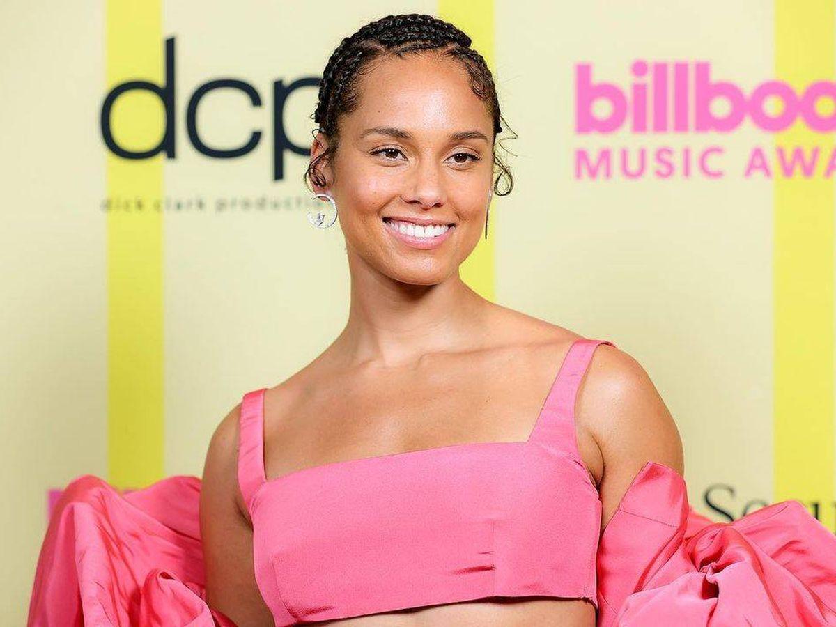 Foto: Alicia Keys. (Instagram Billboard Awards)