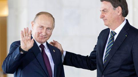 Demostró sus cualidades masculinas: los elogios de Putin a Bolsonaro tras superar el covid-19