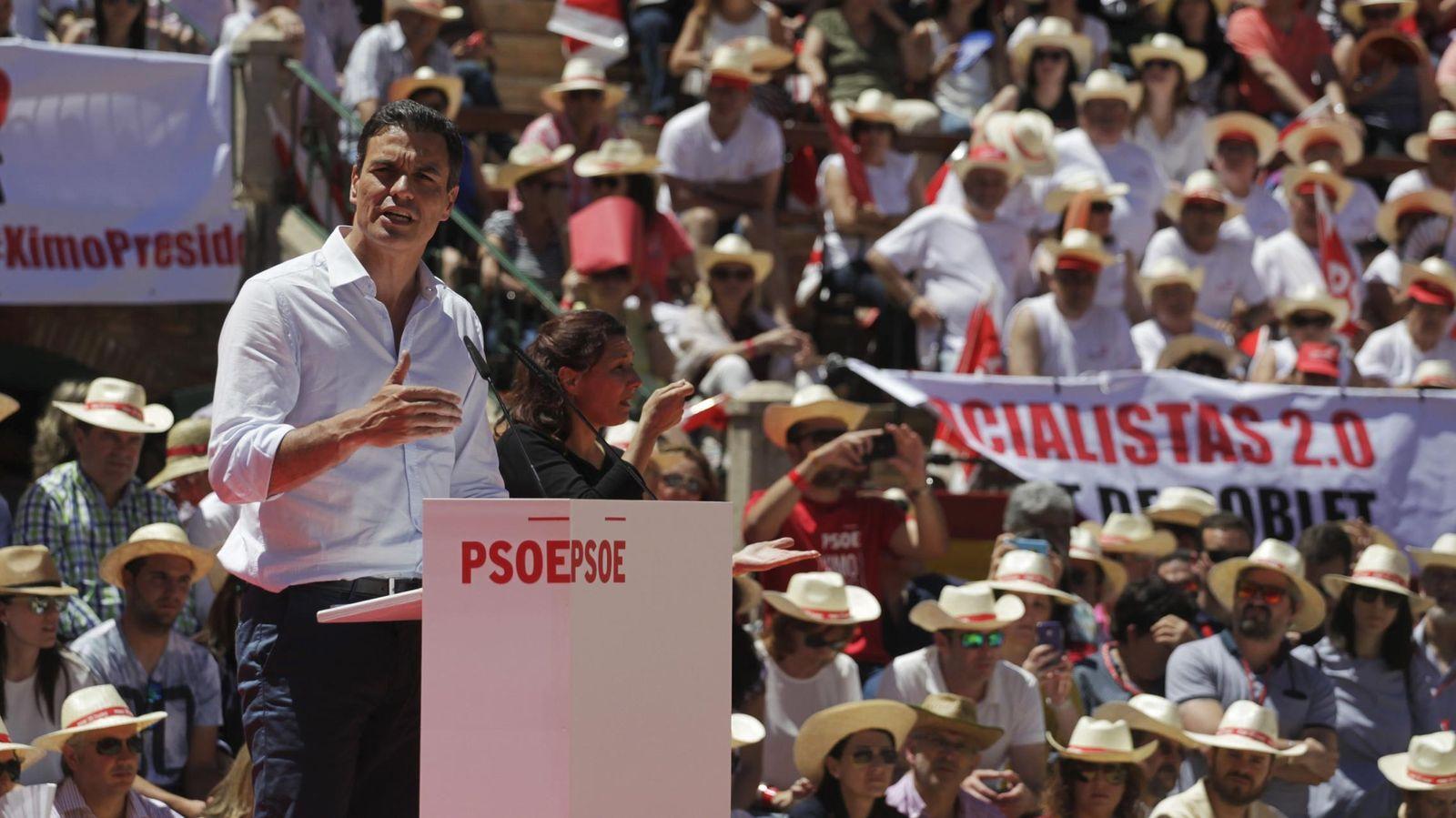 Foto: Pedro Sánchez, secretario general del PSOE. (Reuters)