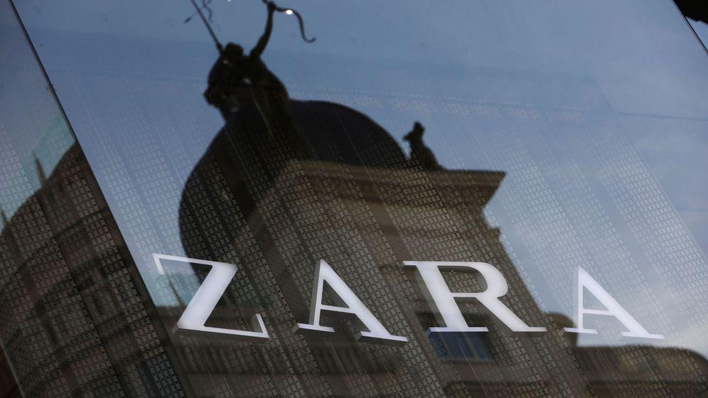 Foto: El logo de la tienda de Zara, propiedad de Inditex. (Reuters)