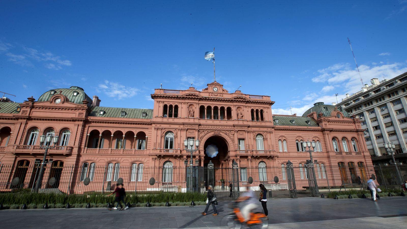 Foto: La Casa Rosada, residencia del presidente de Argentina en Buenos Aires. (Reuters)