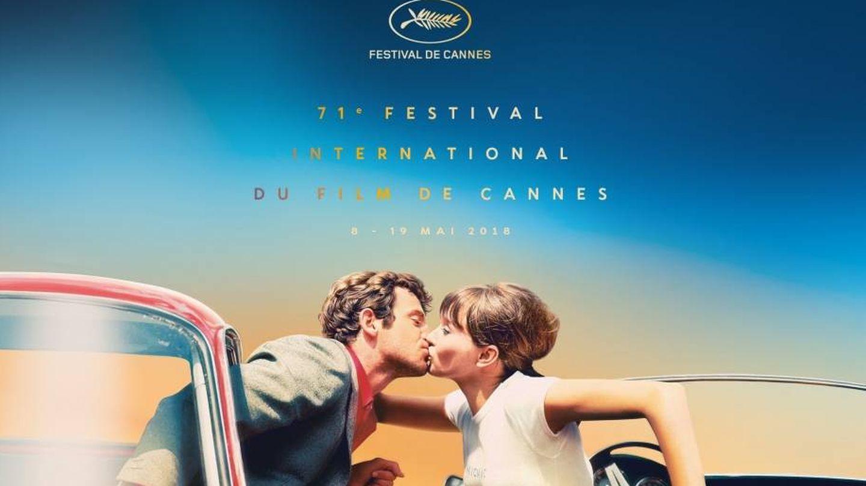 Cartel oficial de la 71ª edición del Festival de Cannes.