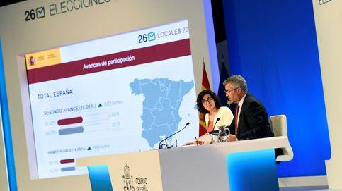 Elecciones europeas 2019: La participación española en las europeas sube 15,34 puntos a las 18.00