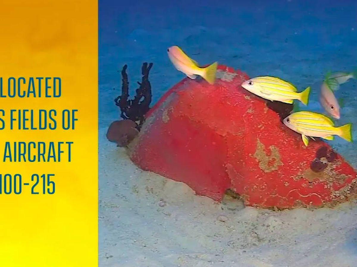 Foto: Encontraron los restos a entre 30 y 70 metros de profundidad (Foto: YouTube)