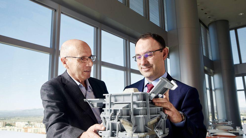 Foto: Carlos Fermín Menéndez Díaz (izquierda) y Antonio Corredor Molguero (derecha), nominados al Premio Inventor Europeo 2019.