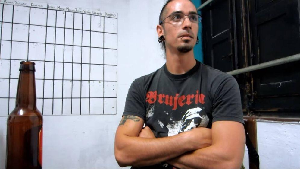 Foto: Rodrigo Lanza en una entrevista. (Youtube/Izquierdadiario.es)